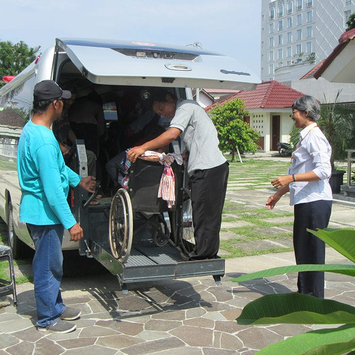 A day for persons with disabilities Sarasvita FCJ Centre Yogyakarta Indonesia