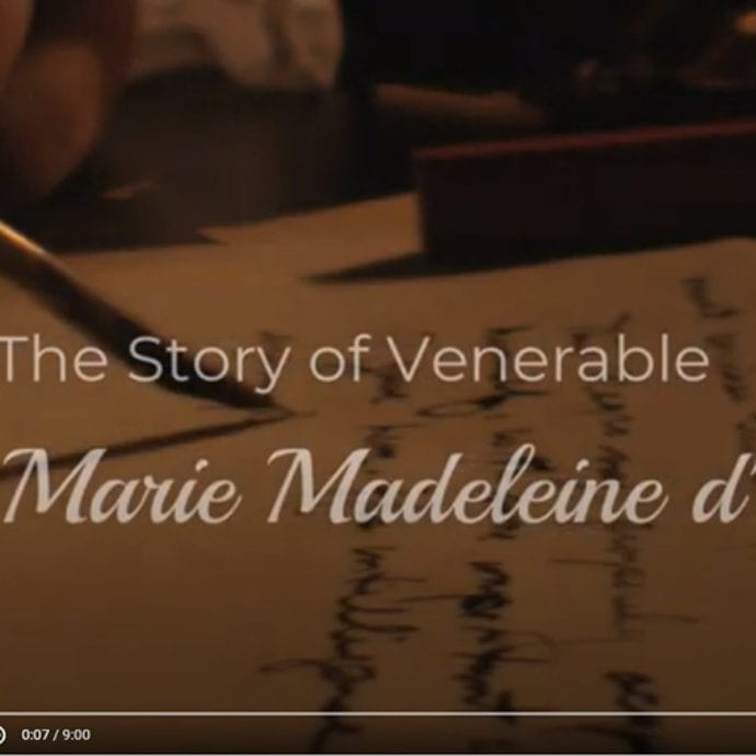 Marie Madeleine d'Houetby St Thomas More students Edmonton
