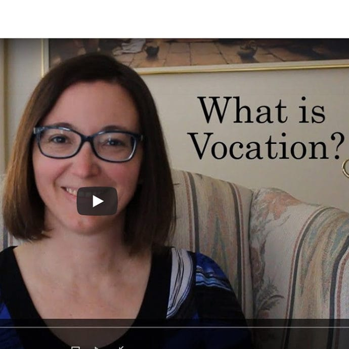 Sr Michelle Video on Vocation Sunday