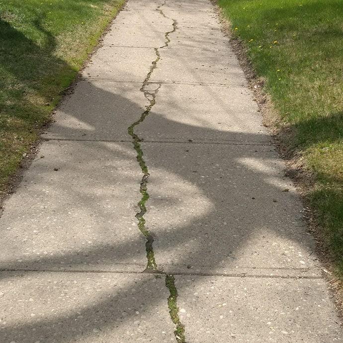 Crack Greening