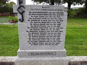 FCJ sisters Bunclody Cemetery
