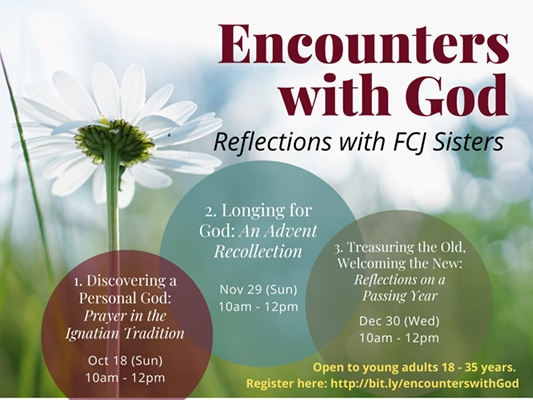 Encounters with God FCJ Sisters Manila
