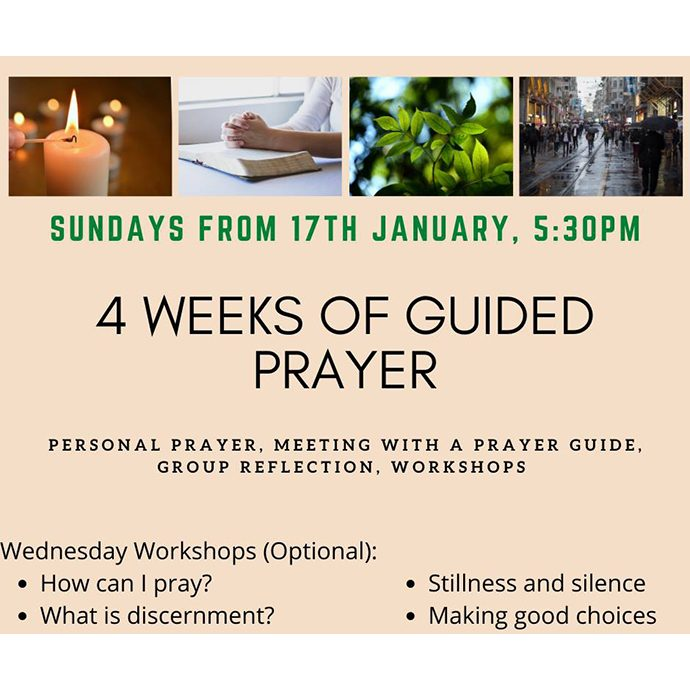 weeks of guided prayer