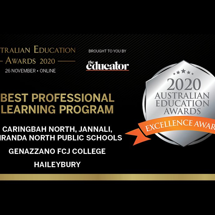 Australian Education Awards 2020 to Genazzano FCJ College