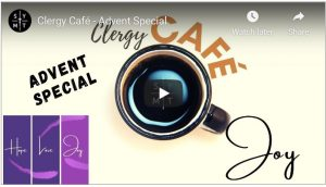 Clergy Café - Advent Special Shrewsbury Youth Ministry